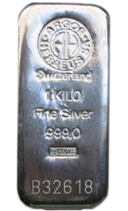 1 Kg Silver Bullion Bar